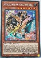 Gizmek Uka, der festliche Fuchs der Fruchtbarkeit ETCO-DE031 ist in Secret Rare Yu-Gi-Oh Karte aus Eternity Code 1.Auflage
