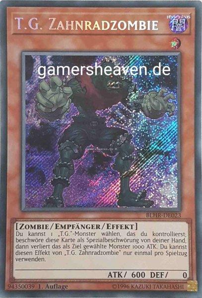 T.G. Zahnradzombie BLHR-DE023 ist in Secret Rare aus Battles of Legend: Hero's Revenge 1.Auflage