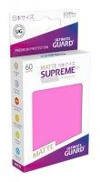 Ultimate Guard Supreme UX Kartenhüllen Japanische Größe Pink Matt (60)