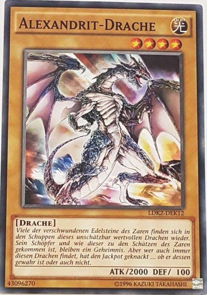 Alexandrit-Drache LDK2-DEK12 ist in Common Yu-Gi-Oh Karte aus Legendary Decks 2