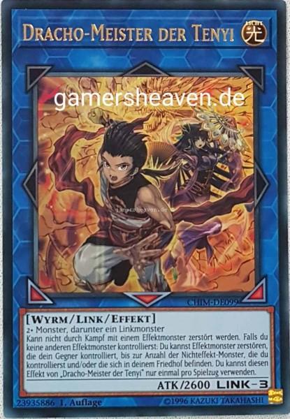 Dracho-Meister der Tenyi CHIM-DE099 ist in Ultra Rare aus Chaos Impact 1.Auflage