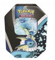 Pokemon Herbst V Tin Box Aquana-V - Deutsch