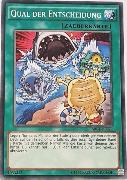 Qual der Entscheidung SR04-DE027 ist in Common Yu-Gi-Oh Karte aus Dinosmasher's Fury