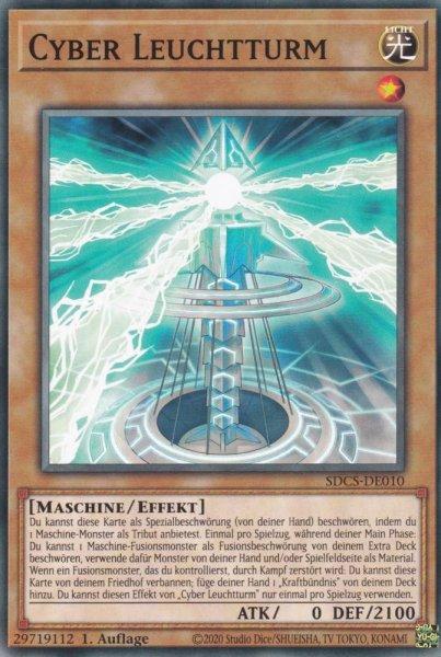 Cyber Leuchtturm SDCS-DE010 ist in Common Yu-Gi-Oh Karte aus Cyber Strike 1.Auflage
