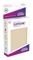 Ultimate Guard Supreme UX Kartenhüllen Japanische Größe Sand (60)