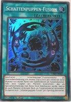 Schattenpuppen-Fusion SDSH-DE049 ist in Super Rare Yu-Gi-Oh Karte aus Shaddoll Showdown 1.Auflage