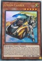 Union-Fahrer ETCO-DE034 ist in Ultra Rare Yu-Gi-Oh Karte aus Eternity Code 1.Auflage