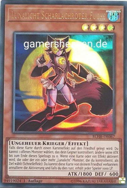Lunalicht Scharlachroter Fuchs BLHR-DE067 ist in Ultra Rare aus Battles of Legend: Hero's Revenge 1.Auflage