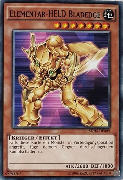 Elementar-HELD Bladedge SDHS-DE009 ist in Common aus HERO's Strike 2.Auflage
