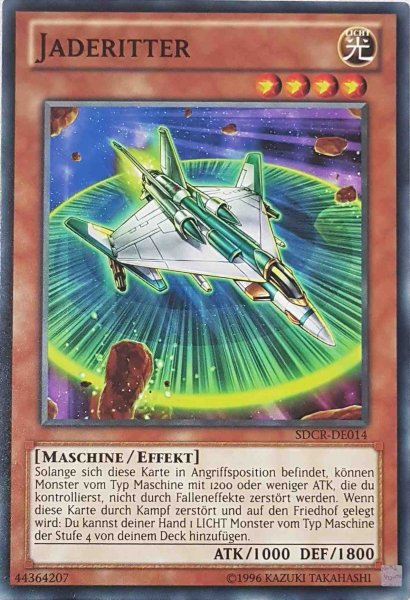 Jaderitter SDCR-DE014 ist in Common Yu-Gi-Oh Karte aus Cyber Dragon Revolution