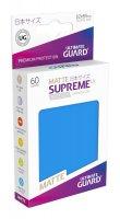 Ultimate Guard Supreme UX Kartenhüllen Japanische Größe Königsblau Matt (60)