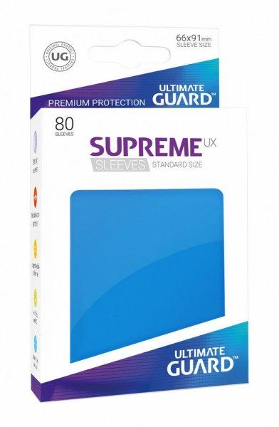 Ultimate Guard Supreme UX Kartenhüllen Standardgröße Königsblau (80)