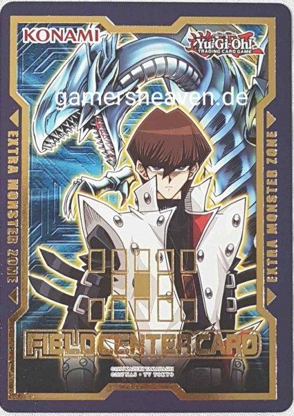 Seto Kaiba Blauäugiger Weißer Drache Field Center Card aus Duel Devastator