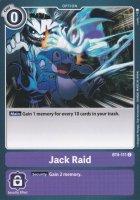 Jack Raid BT4-111 ist in Common. Die Digimon Karte ist aus Great Legend BT04