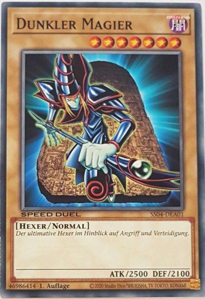 Dunkler Magier SS04-DEA01 ist in Common Yu-Gi-Oh Karte aus Match of the Millennium 1.Auflage