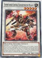 Superstarker Samurai Schwertmeister Musashi ETCO-DE099 ist in Common Yu-Gi-Oh Karte aus Eternity Code 1.Auflage