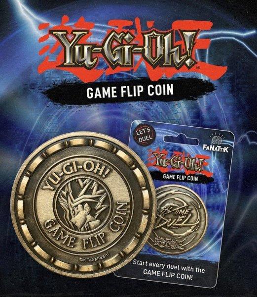 Yu-Gi-Oh! Flip Coin - Offiziell lizenziert von Konami