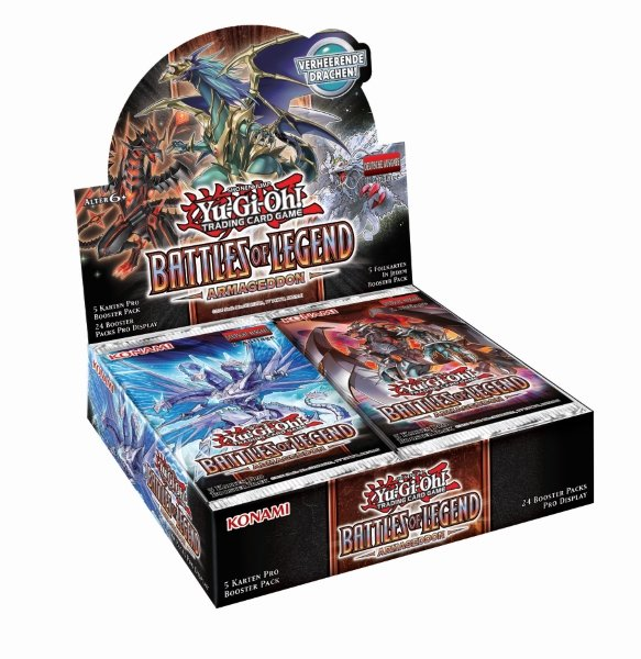Battles of Legend: Armageddon - Display 1. Auflage Deutsch 24 Booster