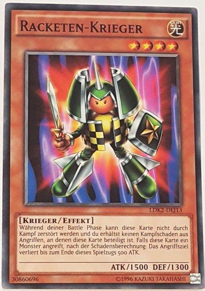 Racketen-Krieger LDK2-DEJ13 ist in Common Yu-Gi-Oh Karte aus Legendary Decks 2