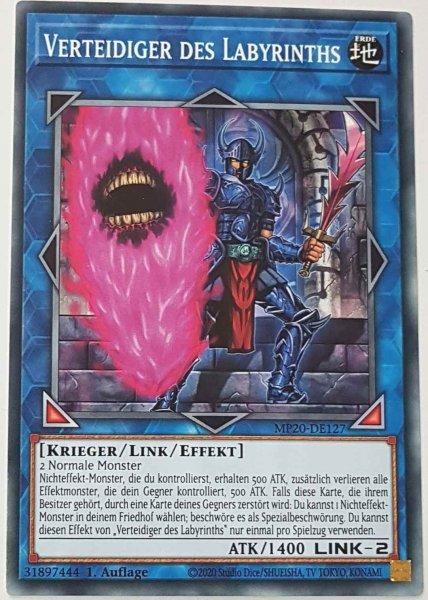 Verteidiger des Labyrinths MP20-DE127 ist in Common Yu-Gi-Oh Karte aus 2020 Tin of Lost Memories 1.Auflage