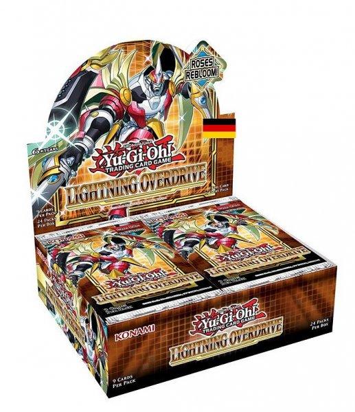 Lightning Overdrive Display 1. Auflage Deutsch