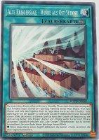 Alte Kriegersage - Winde aus Ost-Südost ROTD-DE060 ist in Common Yu-Gi-Oh Karte aus Rise of the Duelist 1.Auflage