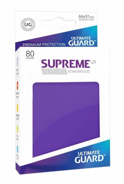 Ultimate Guard Supreme UX Kartenhüllen Standardgröße Violett (80)