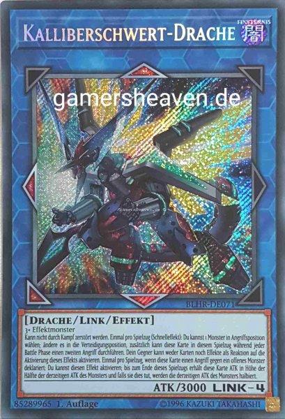 Kalliberschwert-Drache BLHR-DE071 ist in Secret Rare aus Battles of Legend: Hero's Revenge 1.Auflage