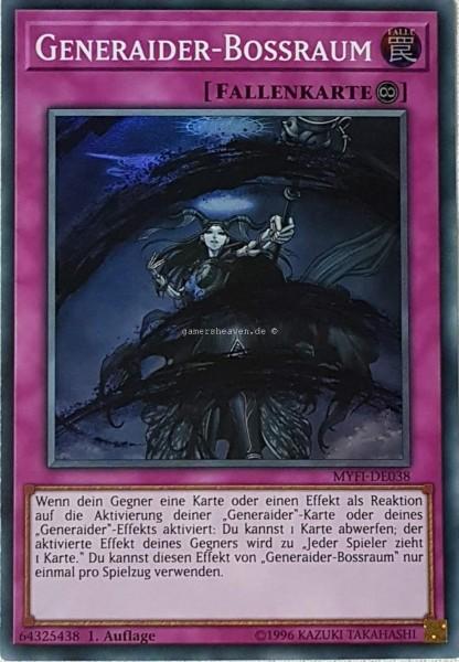 Generaider-Bossraum MYFI-DE038 ist in Super Rare aus Mystic Fighters 1.Auflage