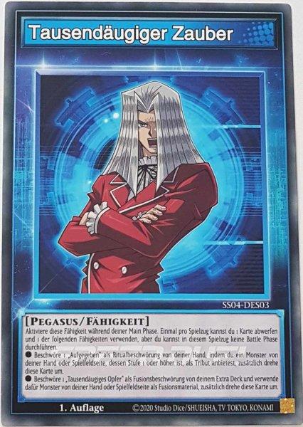 Tausendäugiger Zauber SS04-DES03 ist in Common Yu-Gi-Oh Karte aus Match of the Millennium 1.Auflage
