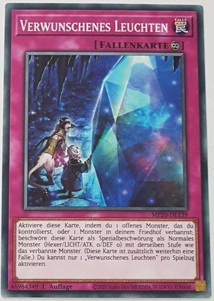 Verwunschenes Leuchten MP20-DE139 ist in Common Yu-Gi-Oh Karte aus 2020 Tin of Lost Memories 1.Auflage