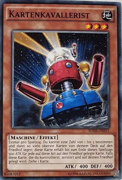 Kartenkavallerist SDHS-DE015 ist in Common aus HERO's Strike 2.Auflage