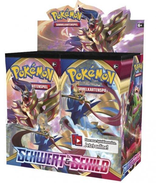 Pokemon Schwert & Schild - Booster Display - Neu