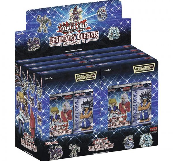 Legendary Duelists: Season 1 Display 1. Auflage Deutsch