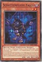 Schattenpuppe Falco SDSH-DE004 ist in Common Yu-Gi-Oh Karte aus Shaddoll Showdown 1.Auflage
