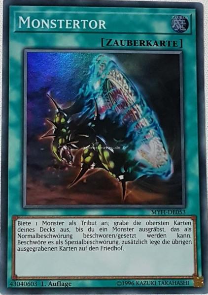 Monstertor MYFI-DE053 ist in Super Rare aus Mystic Fighters 1.Auflage