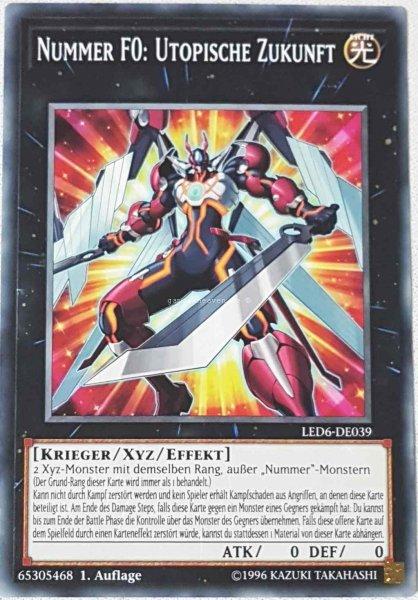 Nummer F0: Utopische Zukunft LED6-DE039 ist in Common aus Legendary Duelists: Magical Hero 1.Auflage