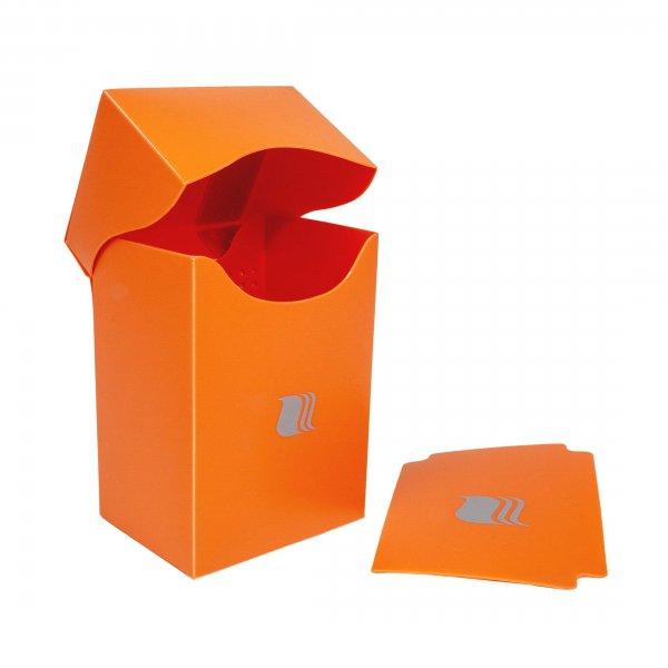Deck Box in Orange Blackfire für 80 Karten