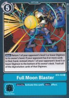 Full Moon Blaster BT4-103 ist in Rare. Die Digimon Karte ist aus Great Legend BT04