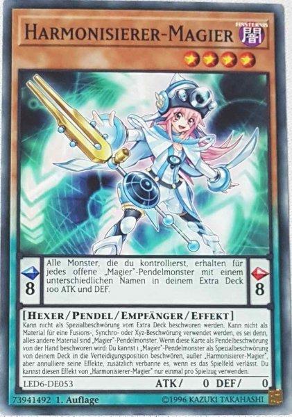 Harmonisierer-Magier LED6-DE053 ist in Common aus Legendary Duelists: Magical Hero 1.Auflage