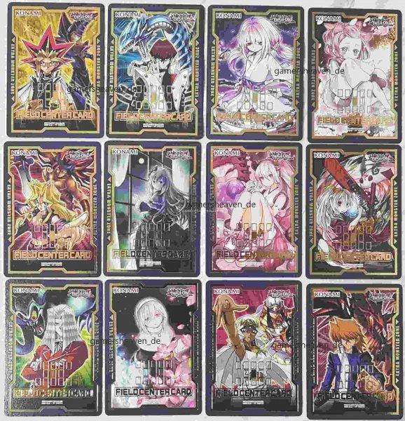 Mega Pack alle 12 Field Center Cards aus Duel Devastator