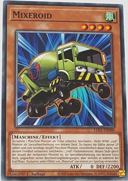 Mixeroid LDS1-DE040 ist in Common Yu-Gi-Oh Karte aus Legendary Duelists: Season 1 1.Auflage