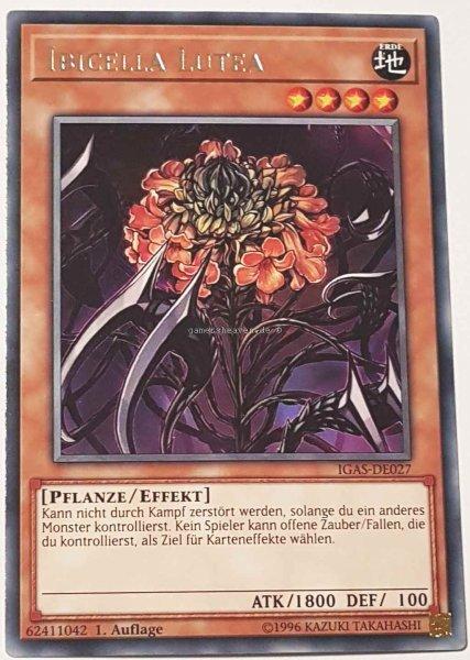 Ibicella Lutea IGAS-DE027 ist in Rare Yu-Gi-Oh Karte aus Ignition Assault 1.Auflage