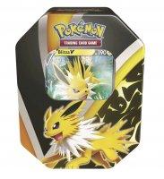 Pokemon Herbst V Tin Box Blitza-V - Deutsch