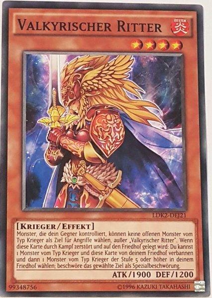 Valkyrischer Ritter LDK2-DEJ21 ist in Common Yu-Gi-Oh Karte aus Legendary Decks 2