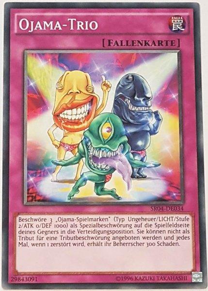 Ojama-Trio SR04-DE034 ist in Common Yu-Gi-Oh Karte aus Dinosmasher's Fury