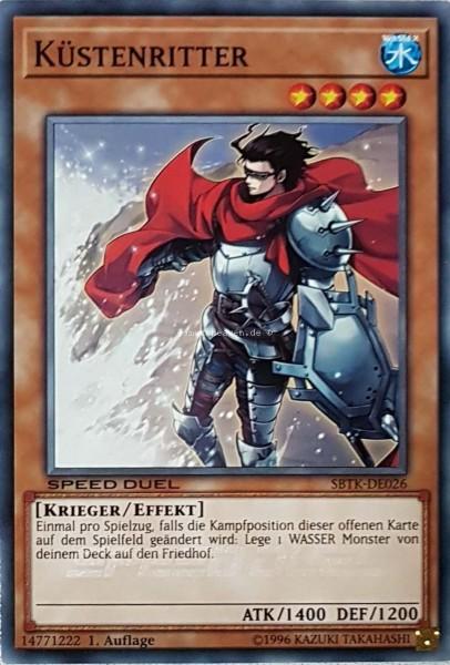 Küstenritter SBTK-DE026 ist in Common aus Speed Duel: Trials of the Kingdom 1.Auflage