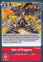 Heir of Dragons BT4-099 ist in Uncommon. Die Digimon Karte ist aus Great Legend BT04