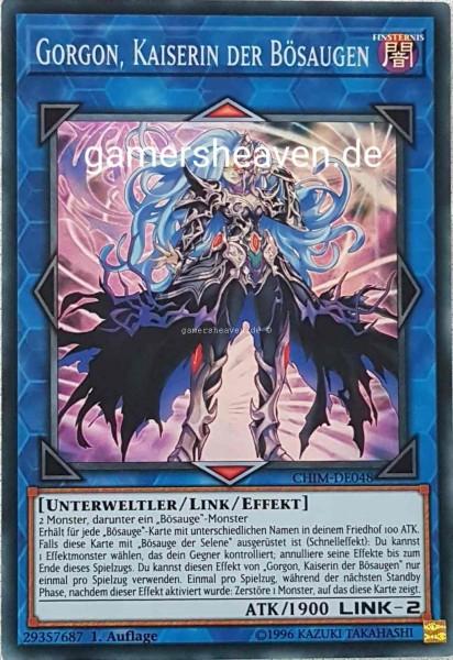 Gorgon, Kaiserin der Bösaugen CHIM-DE048 ist in Super Rare aus Chaos Impact 1.Auflage