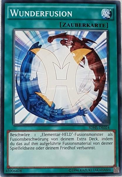 Wunderfusion SDHS-DE024 ist in Common aus HERO's Strike 2.Auflage